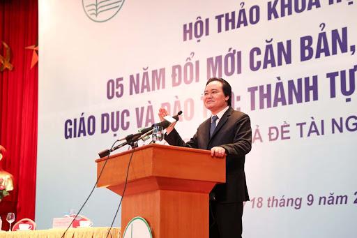 Dấu ấn 5 năm đổi mới của giáo dục Việt Nam