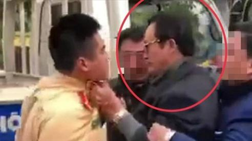 Vụ Chi cục trưởng Chi cục Dân số túm cổ áo CSGT Tuyên Quang: Người trong cuộc tường trình gì?