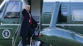 TT Trump lên chuyên cơ rời Nhà Trắng, không quên 'hẹn ngày gặp lại'