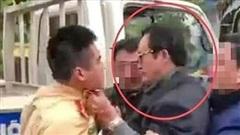 Vụ Chi cục trưởng Dân số túm cổ áo CSGT: Lãnh đạo Công an TP Tuyên Quang tiết lộ bất ngờ