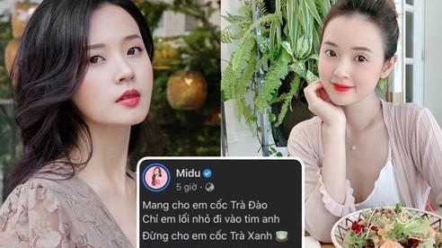 Midu bất ngờ bóng gió chuyện 'trà xanh', netizen nhắc ngay vụ lùm xùm 'Tuesday' Thuý Vi và Phan Thành 6 năm trước