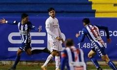 Clip trận Real bị đội hạng ba loại khỏi Cup Nhà Vua