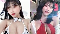 Cosplay bò sữa để tạm biệt năm cũ, nàng YouTuber xinh đẹp nhận vô số chỉ trích vì khoe thân quá đà