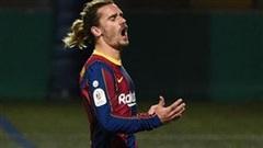 Barca thắng nhọc 'ngựa ô' ở cúp Nhà vua Tây Ban Nha