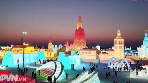 Lễ hội băng đăng 2021 ở Cáp Nhĩ Tân