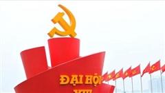 1.587 đại biểu dự Đại hội Đảng toàn quốc lần thứ XIII