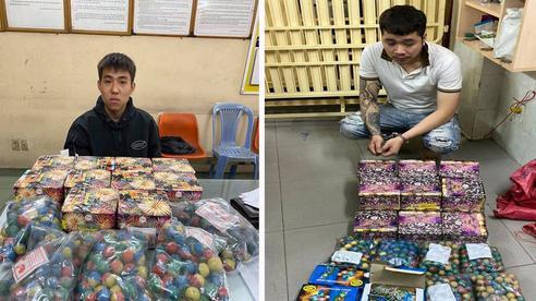 Nam sinh viên mua pháo nổ trên mạng để bán kiếm lời dịp Tết