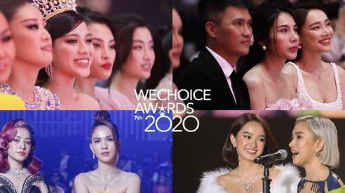Gala WeChoice 2020 biến thành đại hội đọ sắc của dàn mỹ nhân Vbiz: Ngọc Trinh - Chi Pu sexy 'nghẹt thở', Đỗ Thị Hà xinh xỉu giữa dàn hậu