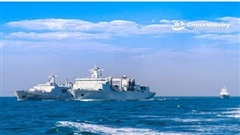 Trung Quốc công bố hình ảnh diễn tập quân sự ở Biển Đông