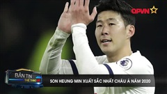 Son Heung-Min tiếp tục nhận giải thưởng cá nhân danh giá của AFC