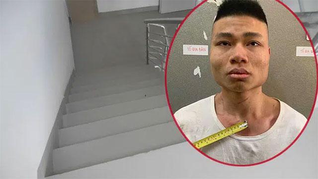 Hiếp dâm phụ nữ ở thang bộ chung cư