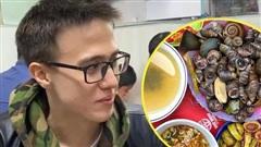 Thanh niên người Nga nêu cảm nghĩ trong lần đầu ăn ốc luộc Hà Nội, nghe xong dân mạng Việt phát 'lú' luôn!