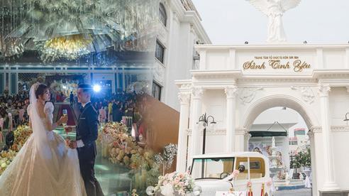 Đám cưới 'cổ tích' tại Bắc Ninh: Bố tự tay thiết kế hôn lễ cho con gái, chi phí hơn 30 tỷ, gần 300 xế hộp xếp chật kín đường