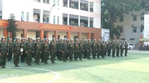 Quân đội quyết tâm bảo vệ tuyệt đối an toàn Đại hội Đảng