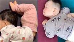 So kè tư thế ngủ của lũ trẻ: Chỉ có 'bá đạo' hơn chứ không có bá đạo nhất!