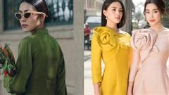 Hà Tăng gây sốt với bộ ảnh mới, Đỗ Mỹ Linh - Tiểu Vy dịu dàng sắc xuân với áo dài