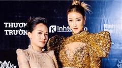 MC Thùy Dương sánh đôi Maya dự sự kiện tại Hà Nội