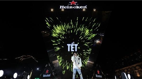 Mãn nhãn trước đại tiệc âm nhạc Heineken Countdown 20221