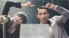 Sau 'drama trà xanh', Sơn Tùng và Hải Tú bất ngờ xuất hiện trong đề thi môn Tiếng Anh