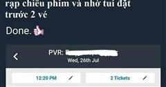 Nhờ bạn đặt vé xem phim để hẹn hò, cái kết là một pha dằn mặt cực mặn: Tao ế mà mày hạnh phúc sao được!