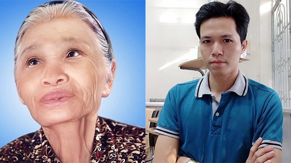Tác giả bức ảnh 'ghép thêm đôi mắt cho bà': 'Tôi đã rất lo lắng vì sợ mình làm không tốt'