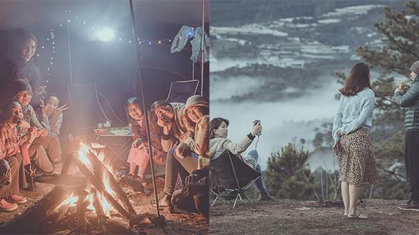 Hành trình 'săn mây' của nhóm bạn trẻ tại đồi thông Đa Phú: Thức xuyên đêm hít hà hơi lạnh, vỡ òa trước sự hùng vĩ của thiên nhiên