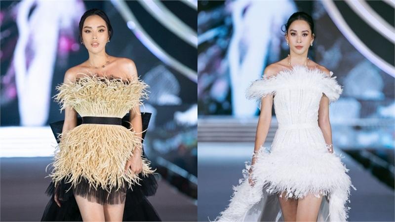 Top 35 HHVN 2020 catwalk tự tin cùng Tiểu Vy, Kỳ Duyên trong BST của NTK Lê Thanh Hoà