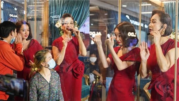 Kaity Nguyễn, Lê Khanh và dàn sao 'Gái già lắm chiêu V' cầu cứu khán giả khi bị nhốt trong lồng kính