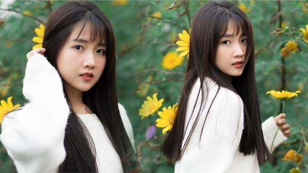 Ngắm bộ ảnh của Kiều Trinh Xíu tại Đà Lạt, dân mạng gật gù: 'Người đẹp chụp với hoa gì cũng đẹp!'