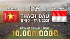 Thất bại trong kèo Thách đấu trước Indonesia, cộng đồng PES Việt dậy sóng kêu gọi Xgaming lên lịch lượt về