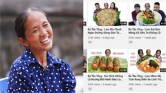 Lượt xem những video gần đây của kênh bà Tân Vlog 'tuột dốc không phanh'