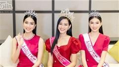 Hậu đăng quang, Top 3 Hoa hậu Việt Nam lần đầu thực hiện thử thách trả lời ứng xử