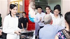 Chuyến từ thiện đầu tiên của Top 3 Hoa hậu Việt Nam 2020