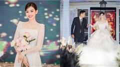 Loạt ảnh hiếm hoi trong đám cưới kín tiếng của Á hậu Tường San