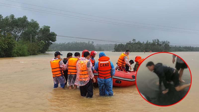 Thai phụ bị lũ cuốn trôi ở Huế: Là công nhân may, thuê ghe đi sinh, vừa được 1 đoạn thì rơi xuống nước
