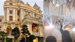 Đám cưới khủng tại lâu đài dát vàng ở Ninh Bình: Riêng tiền hoa tươi đã 15 tỷ, hé lộ video cô dâu chú rể khóa môi