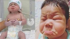 Đáng yêu những em bé sơ sinh 'hờn cả thế giới' khiến ai xem xong cũng phải bật cười