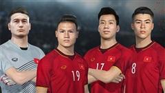 Đội tuyển bóng đá Việt Nam và CLB Viettel chính thức góp mặt trong PES 2022