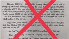 Thông tin người mắc Covid-19 ở Quảng Ninh đi hát karaoke 'tay vịn' là sai sự thật