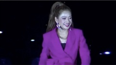 Chi Pu live 'Con đường dài phía trước' khiến khán giả cười haha, nhiều người xem xong clip liền nhớ lại sự cố 'chiếc ố'