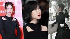 Sam, Hiền Hồ khoe sắc, Tiểu Vy cũng khoe tóc mới rõ xinh nhưng netizen chỉ chú tâm mẫu áo giống Hải Tú