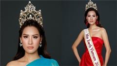 Sau nhiều đồn đoán, Thái Thị Hoa chính thức dự thi Hoa hậu Trái Đất 2020