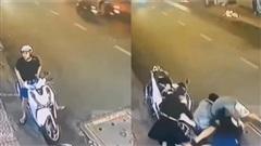 Thanh niên đi SH cầm dao doạ nhân viên quán chè và cái kết