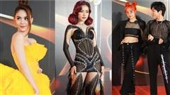 Dàn sao mặc đẹp - xấu trên thảm đỏ: Chi Pu 'đổi vai' với Ngọc Trinh, bạn trai chuyển giới của Miko Lan Trinh khoe ngực vừa cắt