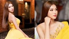 Chiếc váy xẻ cao thót tim có khiến Á hậu Ngọc Thảo 'nao núng' khi khoe 'nhẹ' vài đường catwalk trước thềm 'chinh chiến'?