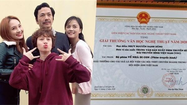 'Về nhà đi con' nhận thêm giải thưởng từ Liên hiệp các Hội văn học nghệ thuật Việt Nam