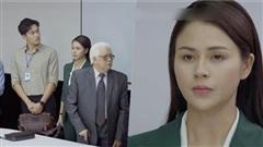 'Hướng dương ngược nắng' tập 21: Mặc nguyên cây xanh lá trong ngày đầu vào Cao Dược, Lương Thu Trang bị xếp vào diện 'trà xanh tham vọng'