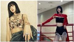 Stylist BlackPink và những lần cắt xén áo váy 'mọi giá' để Lisa khoe eo thon