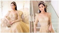 Rời giảng đường, Hoa hậuLê Âu Ngân Anh hoá công chúa với mẫu đầm lấp lánh