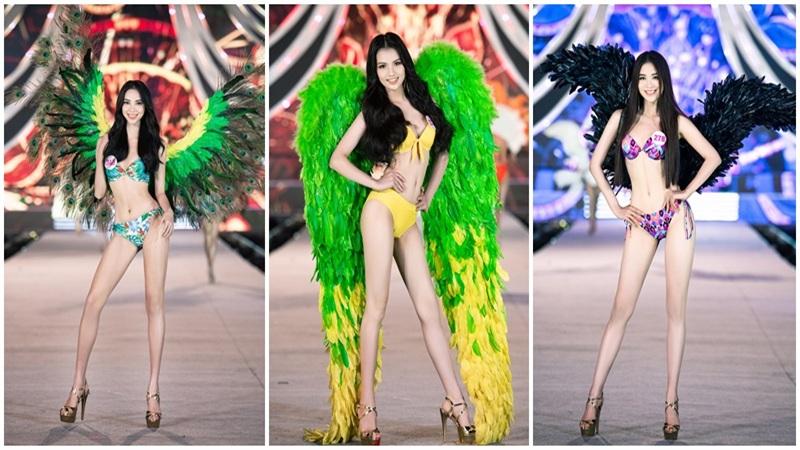 Hoa hậu Tiểu Vy, Á hậu Phương Nga, Thúy An diện bikini 'nóng 1000 độ' bên cạnhcác'thiên thần Victoria Secret' Top 35 HHNV 2020